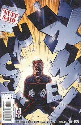 Uncanny X-Men 401 - Golden: A Silent Adventure