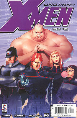 Uncanny X-Men 403 - Lurking