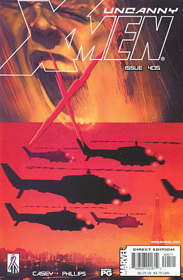 Uncanny X-Men 405 - Ballroom Blitzkrieg
