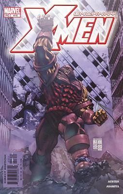 Uncanny X-Men 416 - Living In a Mansion
