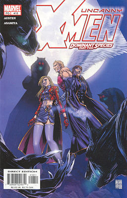Uncanny X-Men 418 - Dominant Species, Part II