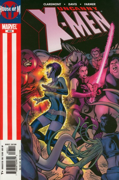 Uncanny X-Men 463 - Season of the Witch, Part 2 of 4: We're Not in Kansas Anymor...