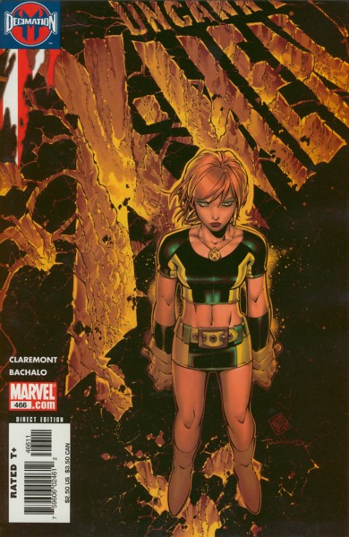 Uncanny X-Men 466 - Last Night I Had the Strangest Dream
