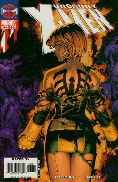 Uncanny X-Men 468 - Grey's End, Part 3 of 3: Deathmark
