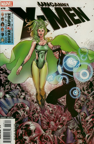 Uncanny X-Men 478 - The Rise And Fall Of The Shi'ar Empire Chapter Four Castaway...