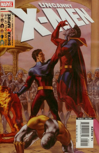 Uncanny X-Men 480 - The Rise And Fall Of The Shi'ar Empire Chapter Six Vulcan's ...