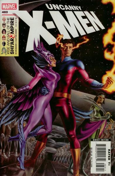Uncanny X-Men 483 - Vulcan's Descent