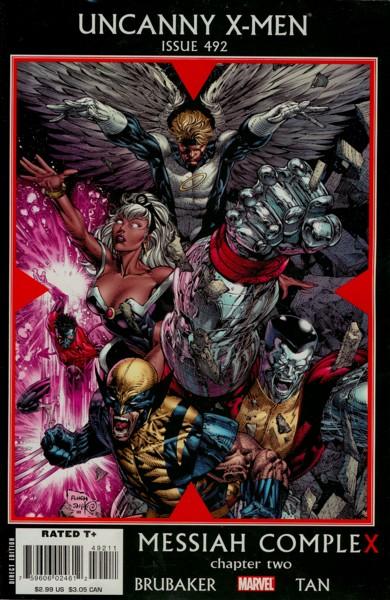 Uncanny X-Men 492 - Messiah CompleX, Chapter Two