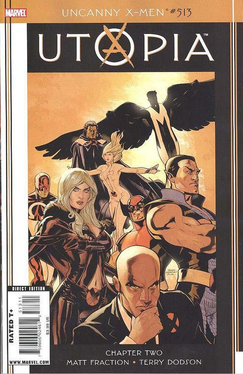 Uncanny X-Men 513 - Dark Avengers/Uncanny X-Men: Utopia, Part 2