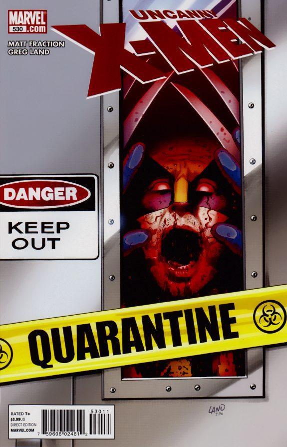 Uncanny X-Men 530 - Quarantine Part 1