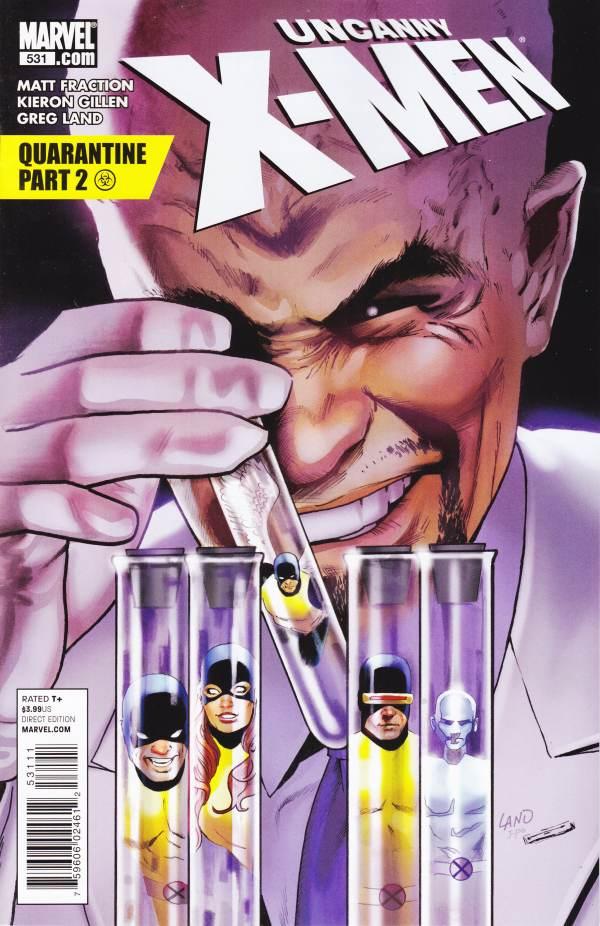 Uncanny X-Men 531 - Quarantine Part 2