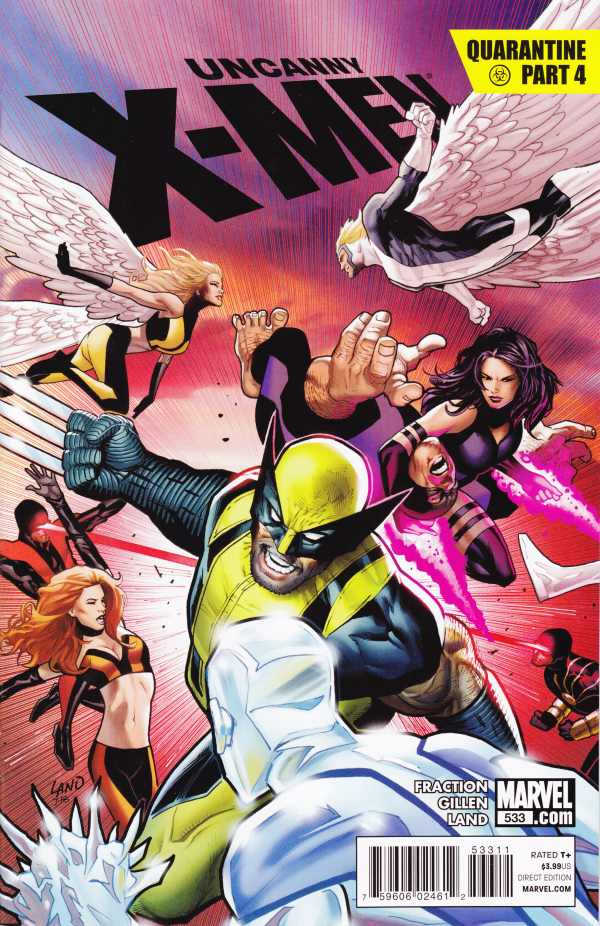 Uncanny X-Men 533 - Quarantine Part 4