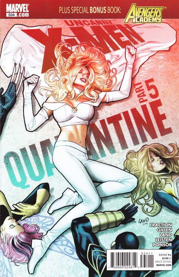 Uncanny X-Men 534 - Quarantine Part 5