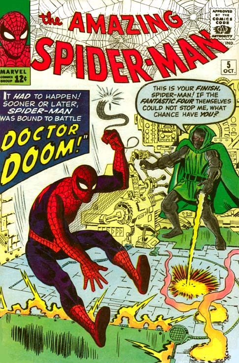 The Amazing Spider-Man 5 - Marked for Destruction by Dr. Doom!
