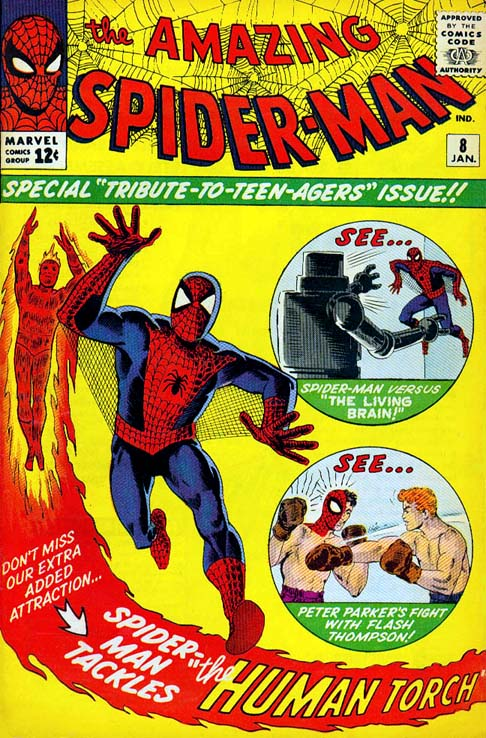 The Amazing Spider-Man 8 - The Terrible Threat of the Living Brain!