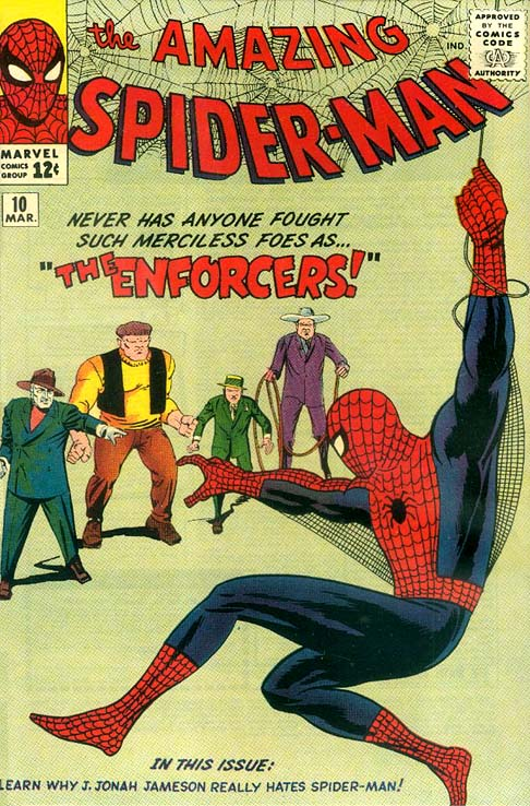 The Amazing Spider-Man 10 - The Enforcers!