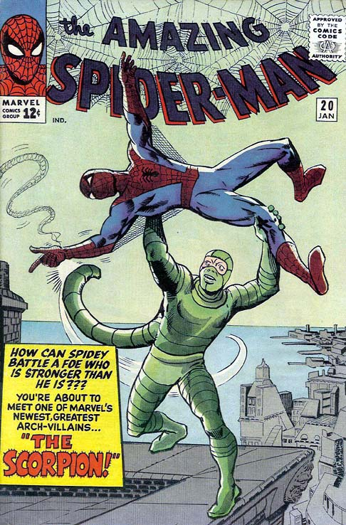 The Amazing Spider-Man 20 - The Coming Of The Scorpion!