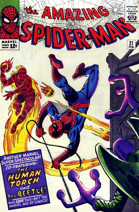 The Amazing Spider-Man 21 - Where Flies the Beetle...!