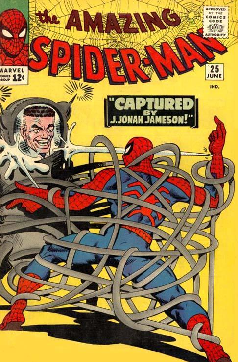 The Amazing Spider-Man 25 - Captured by J. Jonah Jameson!