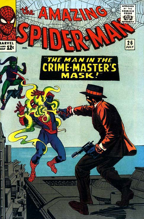 The Amazing Spider-Man 26 - The Man In The Crime-Master's Mask!