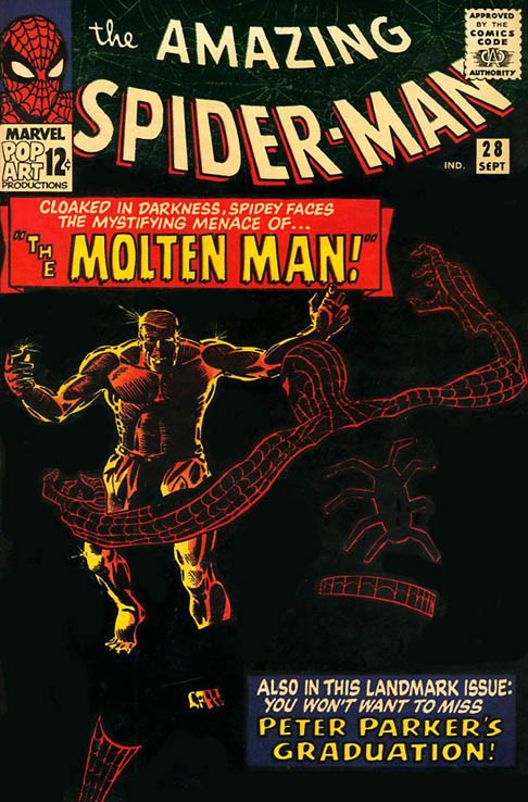 The Amazing Spider-Man 28 - The Menace of the Molten Man!