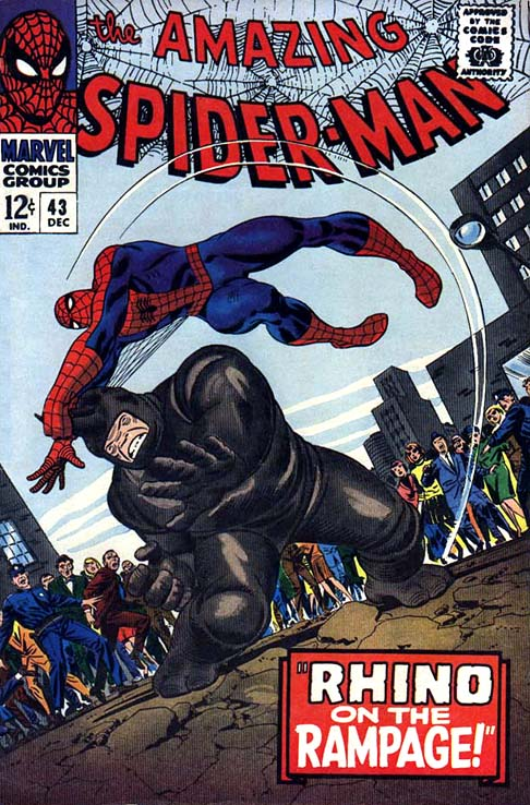 The Amazing Spider-Man 43 - Rhino on the Rampage!