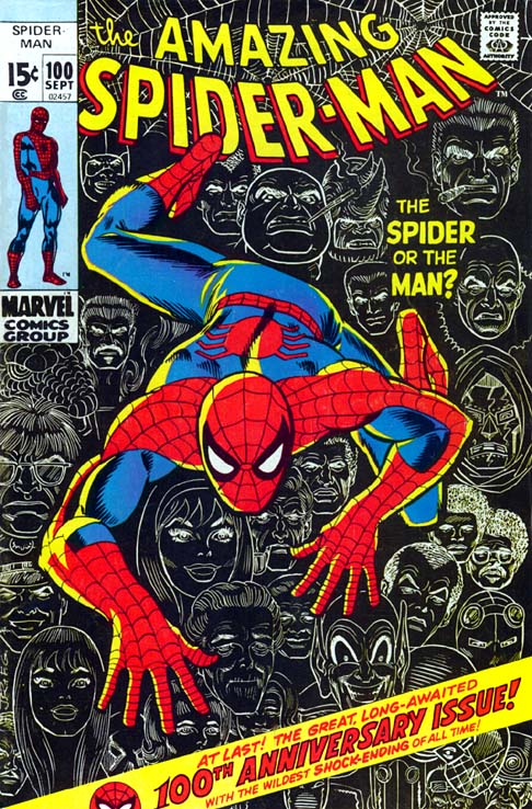 The Amazing Spider-Man 100 - The Spider Or The Man?