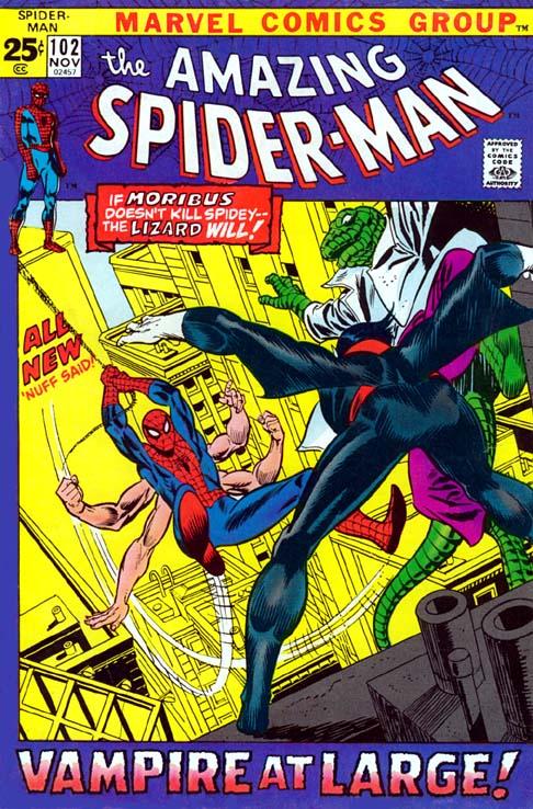 The Amazing Spider-Man 102 - Vampire at Large!