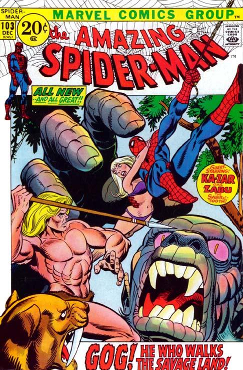 The Amazing Spider-Man 103 - Walk The Savage Land!