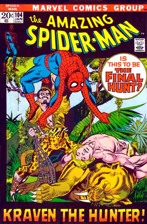 The Amazing Spider-Man 104 - The Beauty And The Brute!