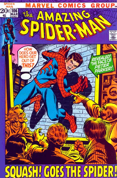 The Amazing Spider-Man 106 - Squash! Goes The Spider!