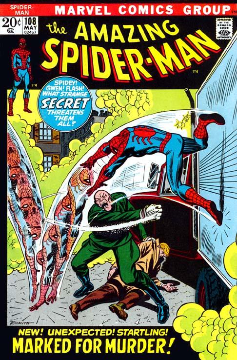 The Amazing Spider-Man 108 - Vengeance From Vietnam!