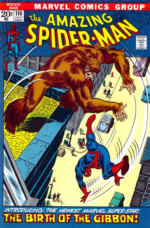 The Amazing Spider-Man 110 - The Birth Of... The Gibbon!