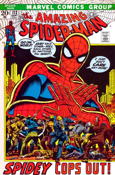 The Amazing Spider-Man 112 - Spidey Cops Out