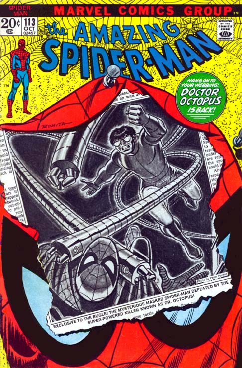 The Amazing Spider-Man 113 - They Call The Doctor... Octopus