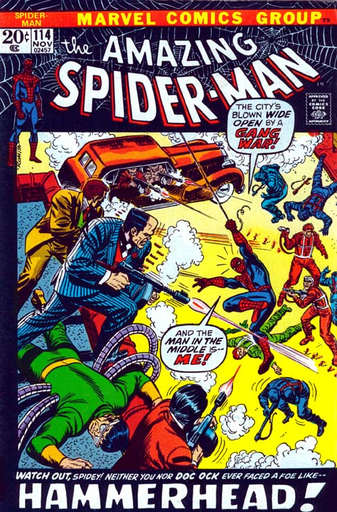 The Amazing Spider-Man 114 - Gang War, Shmang War! What I Want To Know Is... Who The Heck...