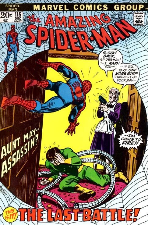 The Amazing Spider-Man 115 - The Last Battle!