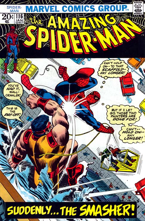 The Amazing Spider-Man 116 - Suddenly... The Smasher!