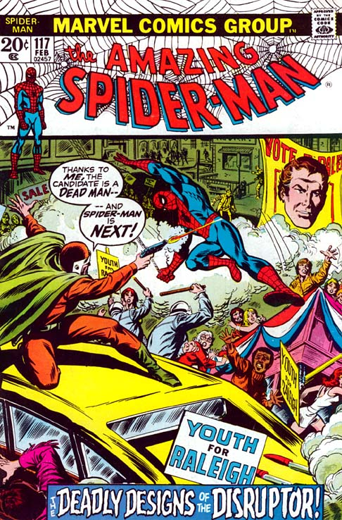 The Amazing Spider-Man 117 - The Deadly Designs Of The Disruptor!