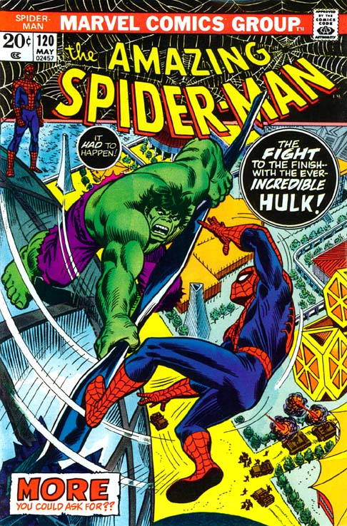 The Amazing Spider-Man 120 - The Fight And The Fury!