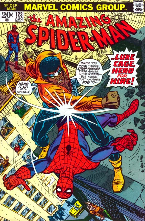 The Amazing Spider-Man 123 - ... Just A Man Called Cage!