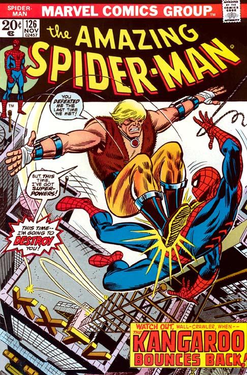 The Amazing Spider-Man 126 - The Kangaroo Bounces Back!