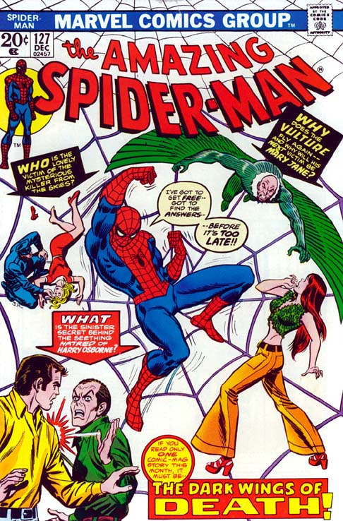 The Amazing Spider-Man 127 - The Dark Wings Of Death!