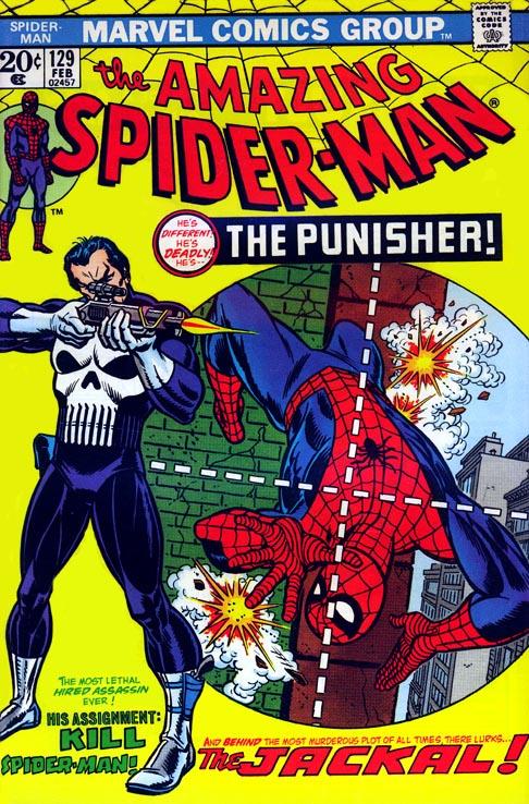 The Amazing Spider-Man 129 - The Punisher Strikes Twice!