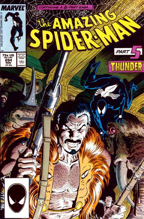 The Amazing Spider-Man 294 - Thunder