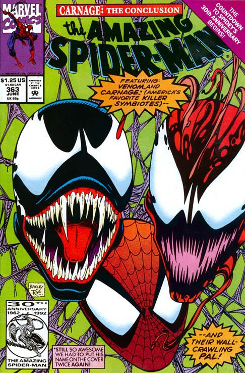 The Amazing Spider-Man 363 - Savage Grace