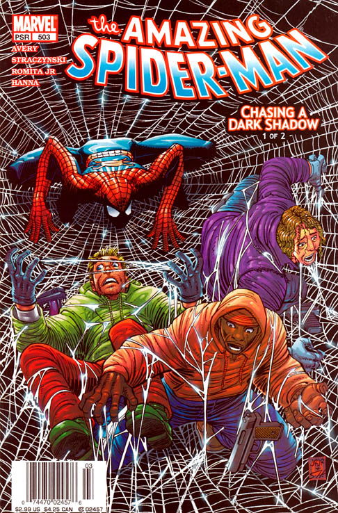 The Amazing Spider-Man 503 - Chasing a Dark Shadow