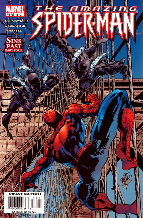 The Amazing Spider-Man 512 - Sins Past Part Four