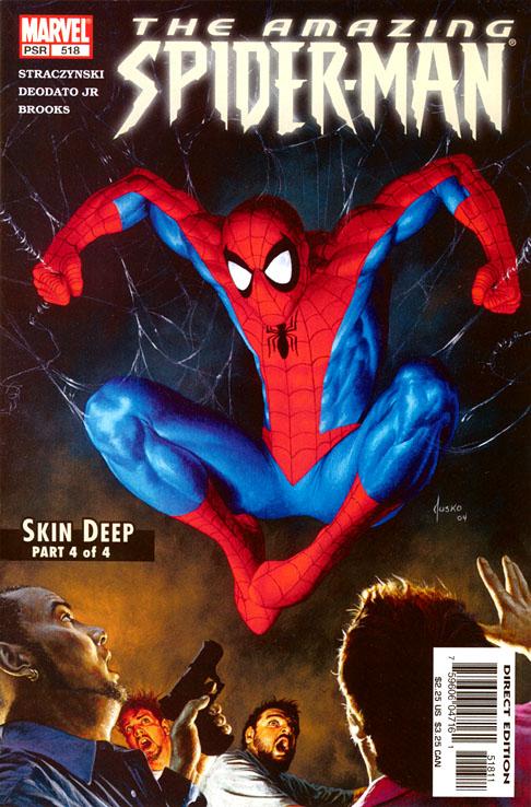 The Amazing Spider-Man 518 - Skin Deep Part Four