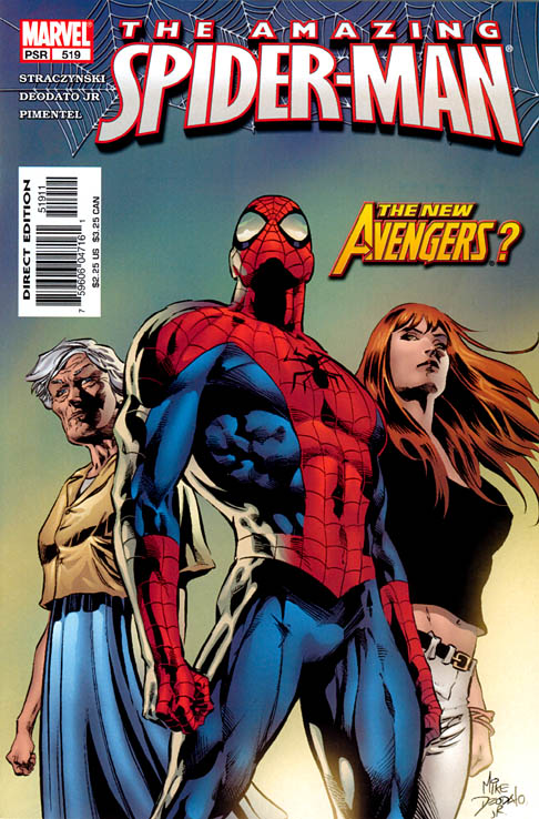 The Amazing Spider-Man 519 - Moving Up